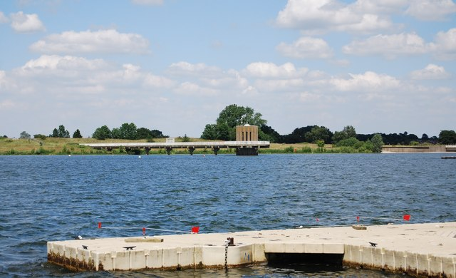 Draw off tower, Alton Water