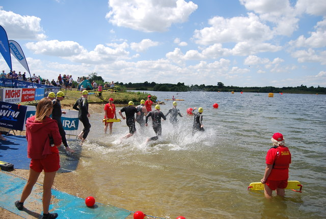 Great East Swim - The start