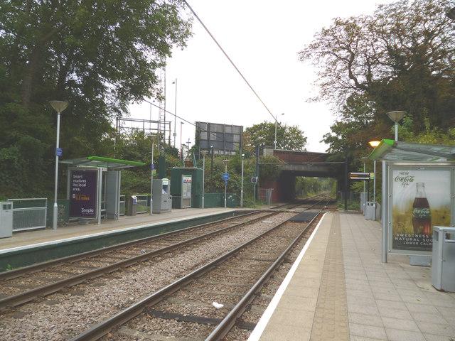 Merton:  Morden Road tram stop