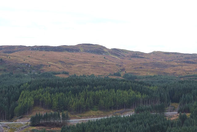 Bàrr Liath from Inverliever Forest
