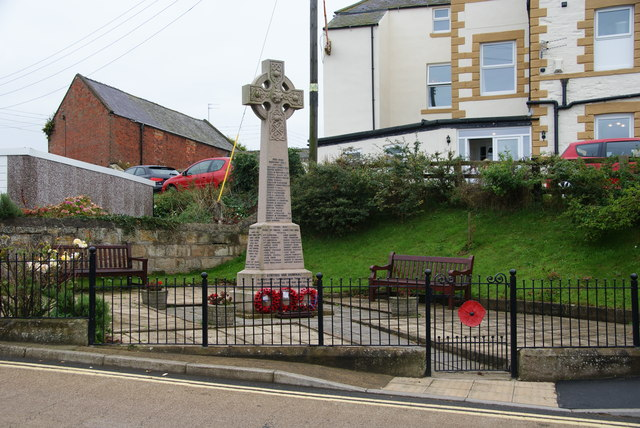 War memorial at Staithes