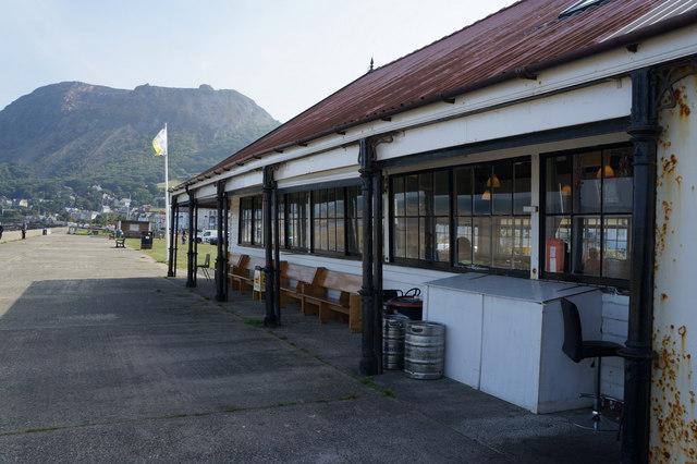Café on the Promenade, Llanfairfechan