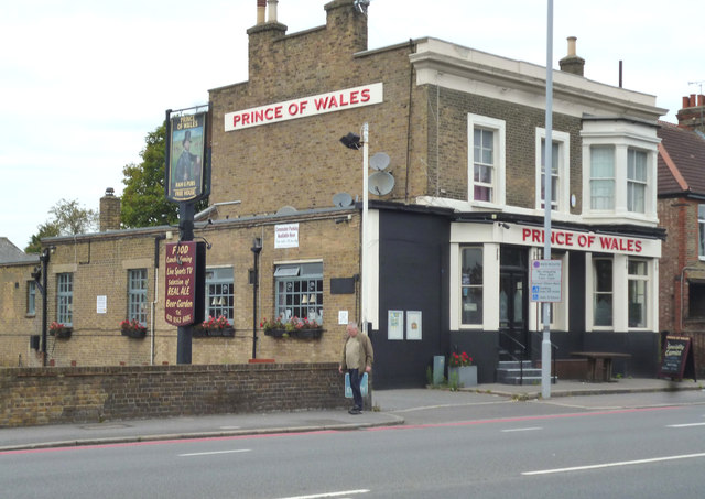 Merton:  The 'Prince of Wales', Morden Road