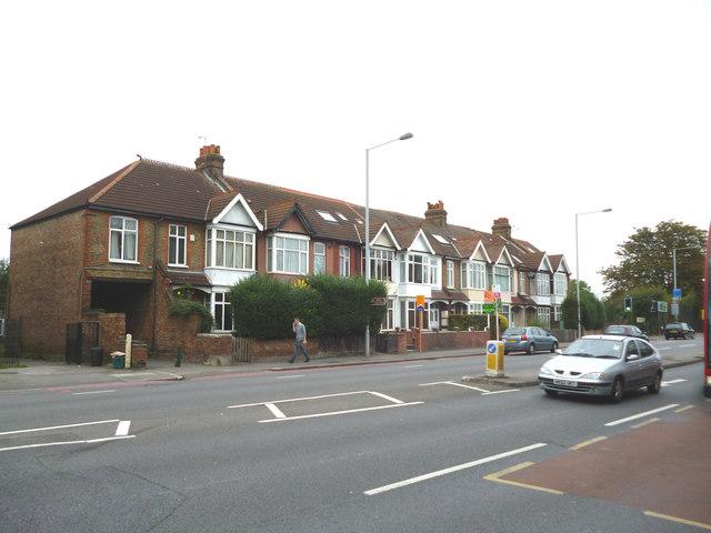 Merton:  Houses on Morden Road