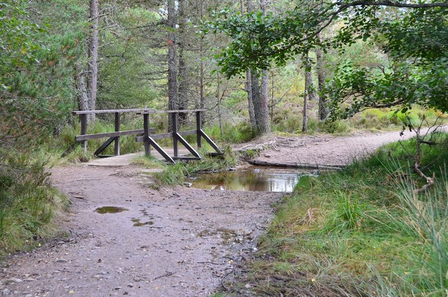 Footbridge by Loch Morlich
