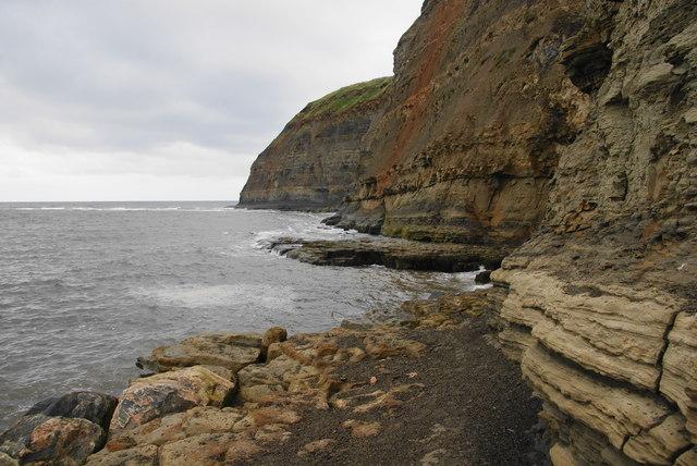Cliffs near Staithes