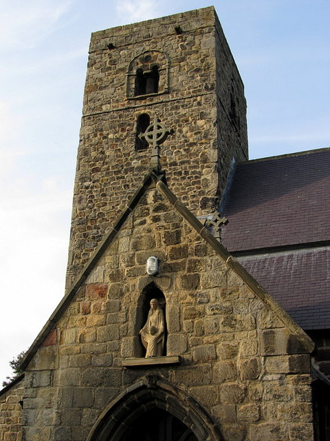 Tower of St Mary's Church, Ovingham