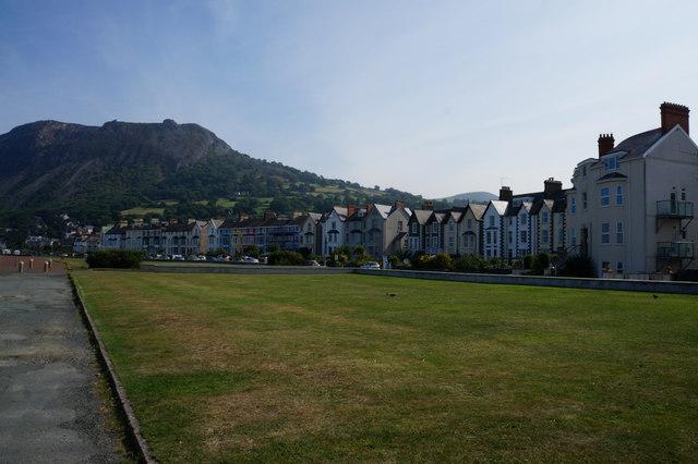 Houses on the Promenade, Llanfairfechan