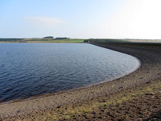 Dam, Derwent Reservoir