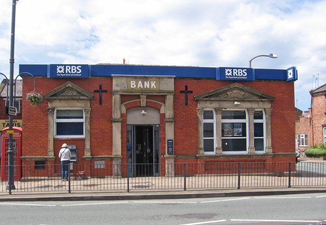 Burscough - RBS Bank on Liverpool Road