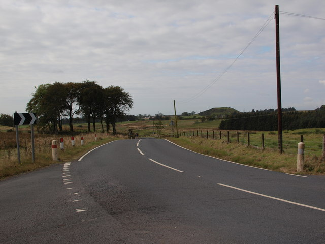 B769 road at Windy-Yett
