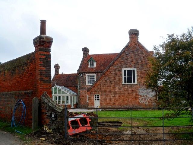 White Tyrells Farm House
