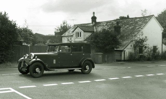 Old Car in Great Shefford