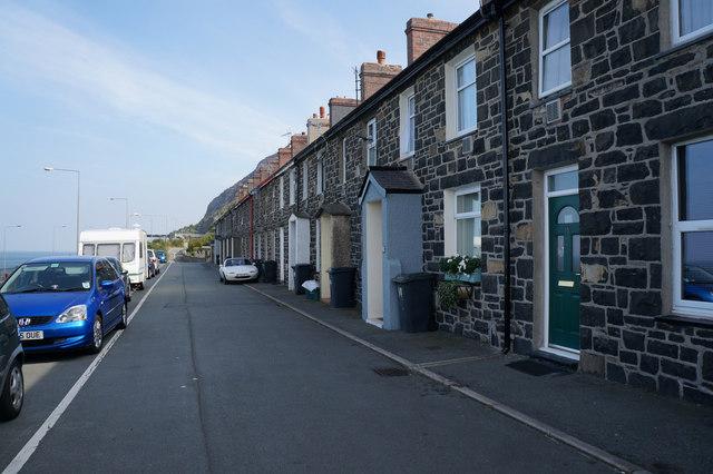 Houses on Penmaenmawr Road, Llanfairfechan