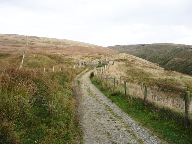 The Pennine Bridleway east of the A672