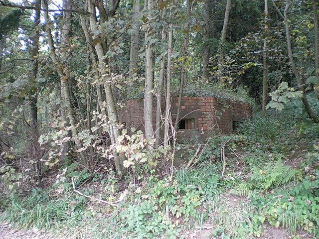 WW2 pillbox on the Apley Estate