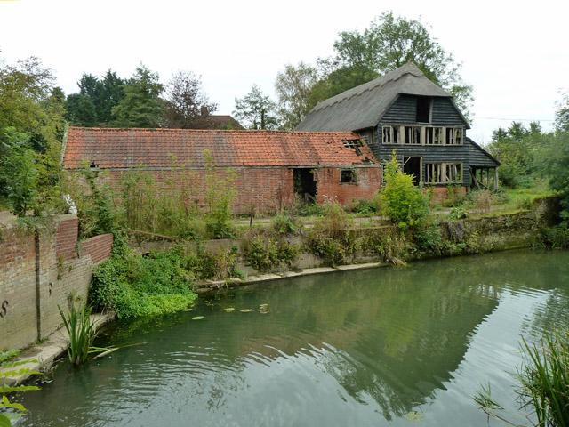 Waples Mill Farm - derelict