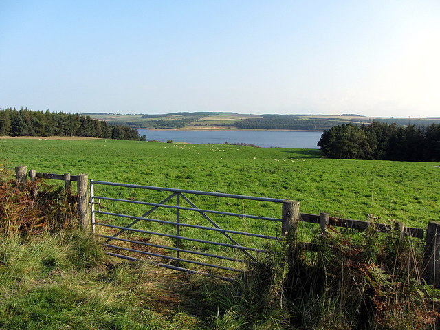 Farmland south of Derwent Reservoir