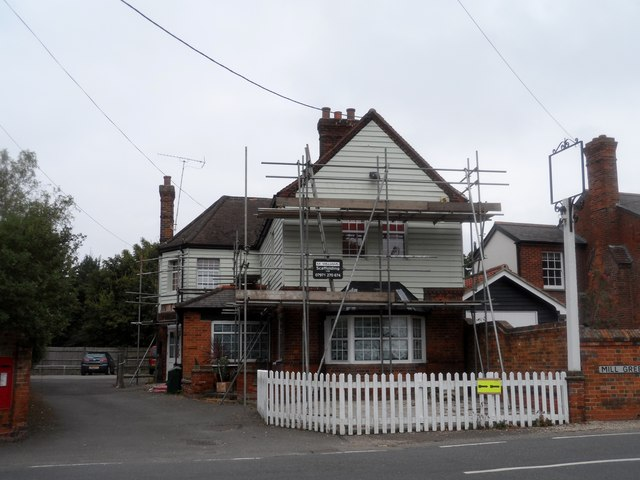 The former Woolpack pub