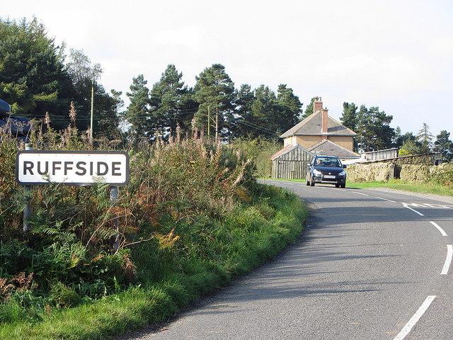 Road east of Ruffside
