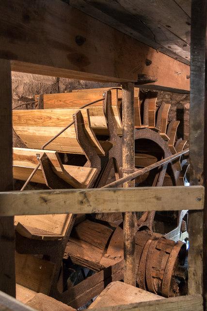 Water Wheel, Otterton Mill, Otterton, Devon