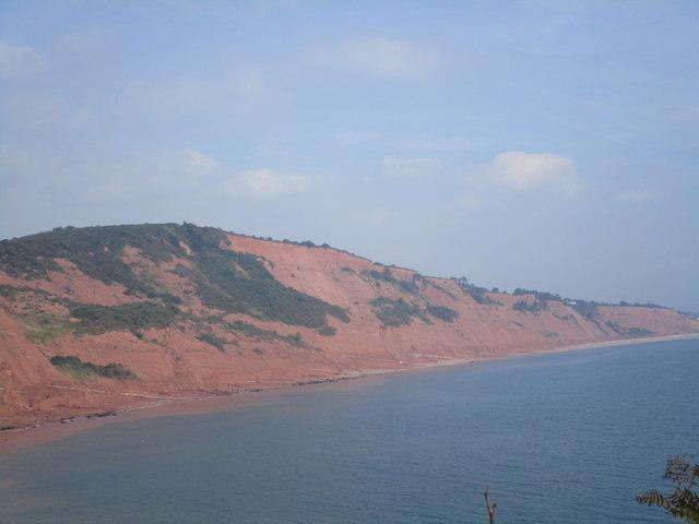 View towards West Down Cliffs