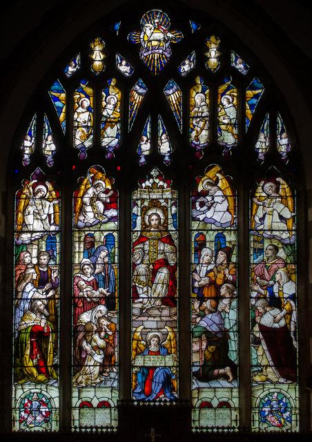 East Window, St Dunstan's church, Mayfield