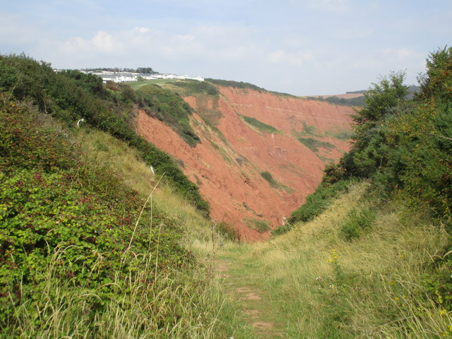 Track to Littleham Cove