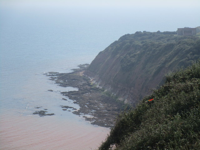 Between Littleham Cove and Otter Cover