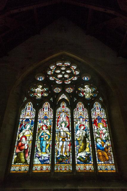 Stained Glass Window, St Michael's Church, Otterton, Devon