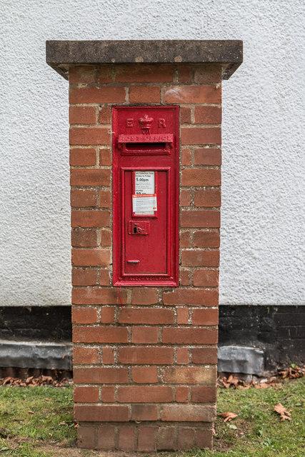 Pillar Box, Otterton, Devon