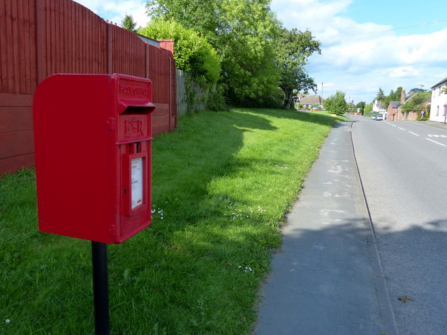 Postbox along Leicester Road in Shilton