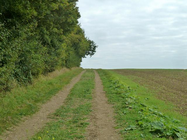 Uphill bridleway