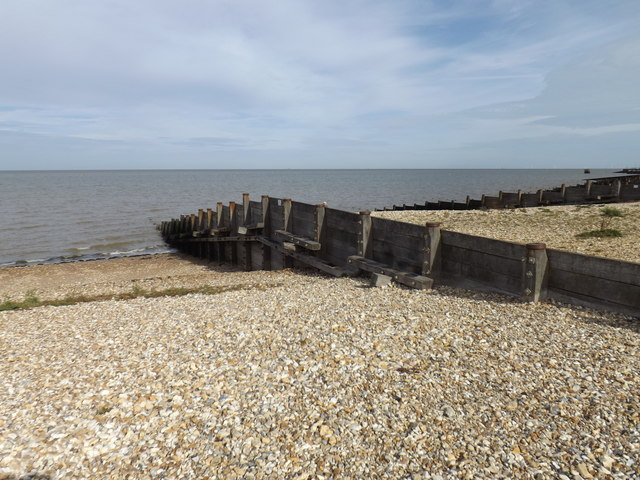 Groyne at Whitstable