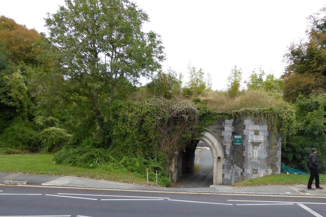 The entrance to Woodland Fort