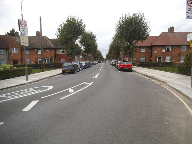 Wulfstan Street, East Acton