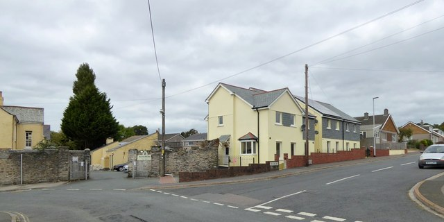 The end of Carew Avenue, Honicknowle