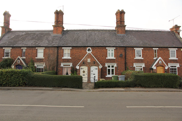 Cottages on the Great North Road