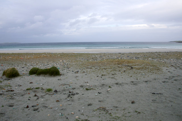 The top of Easting beach