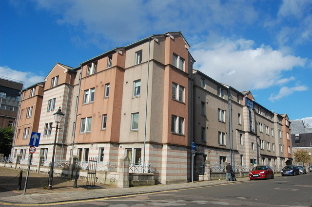 Inner-city flats, Dee Street, Aberdeen