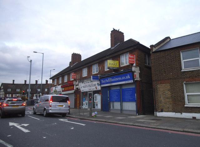 Shops on Old Oak Common Lane