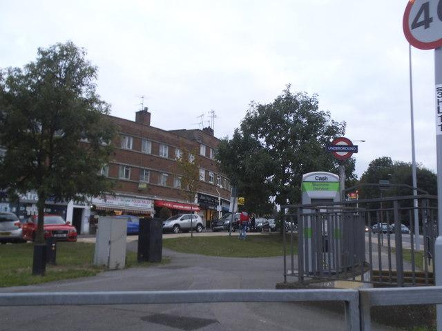 Hanger Lane at the junction of Westway