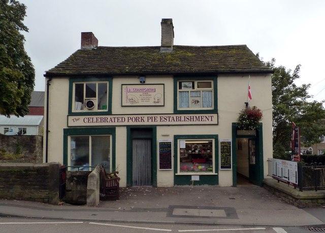 Pork butcher and pie shop, Skipton