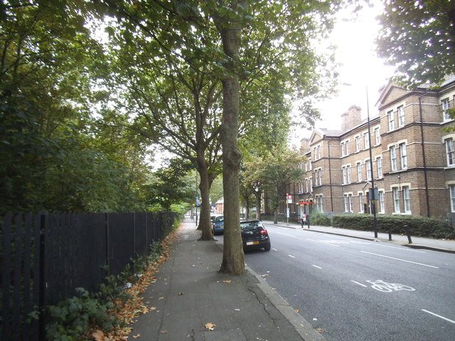 Du Cane Road by Wormwood Scrubs