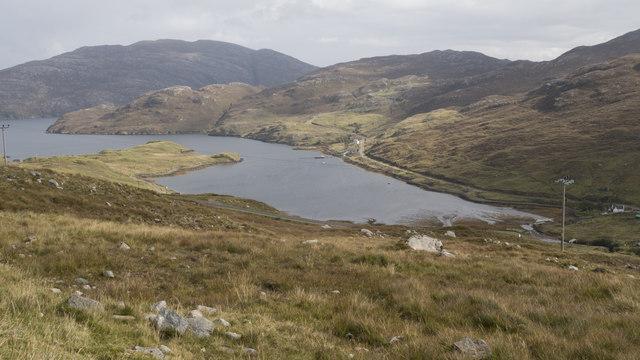View towards Loch Màraig