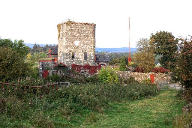Castle Stewart (ruin)