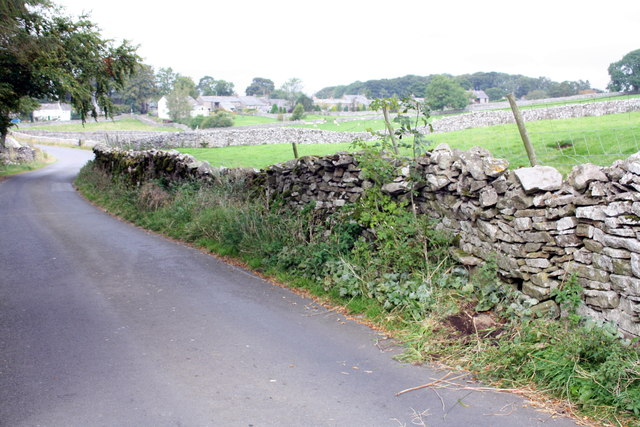 Townhead Lane at approach to Ravenstonedale