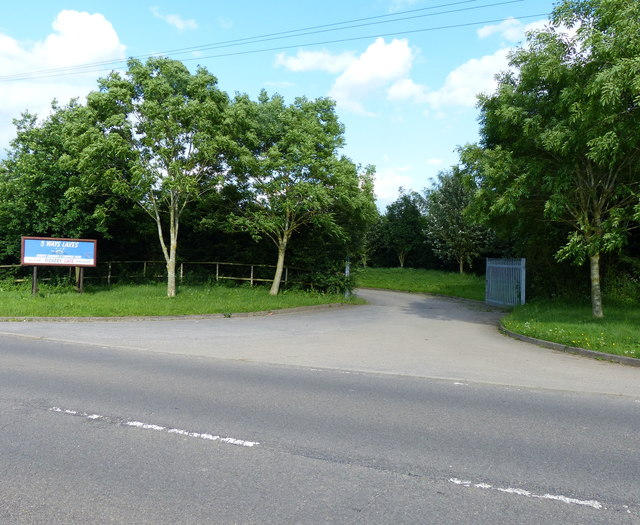 Entrance to 5 Ways Lakes Fishery