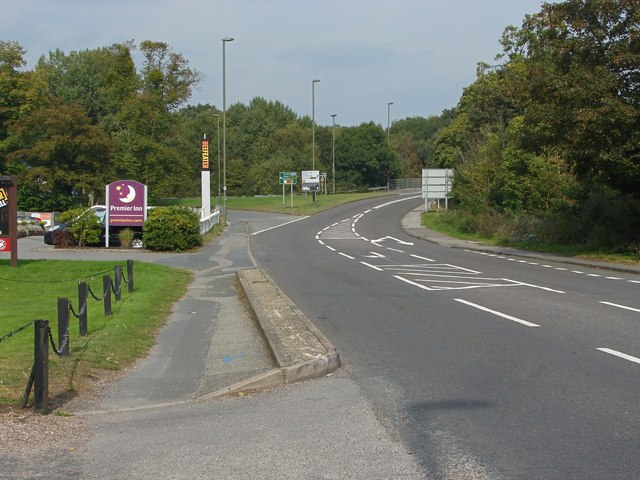 The A30, Bagshot