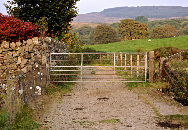 Gate to Penninghame Home Farm